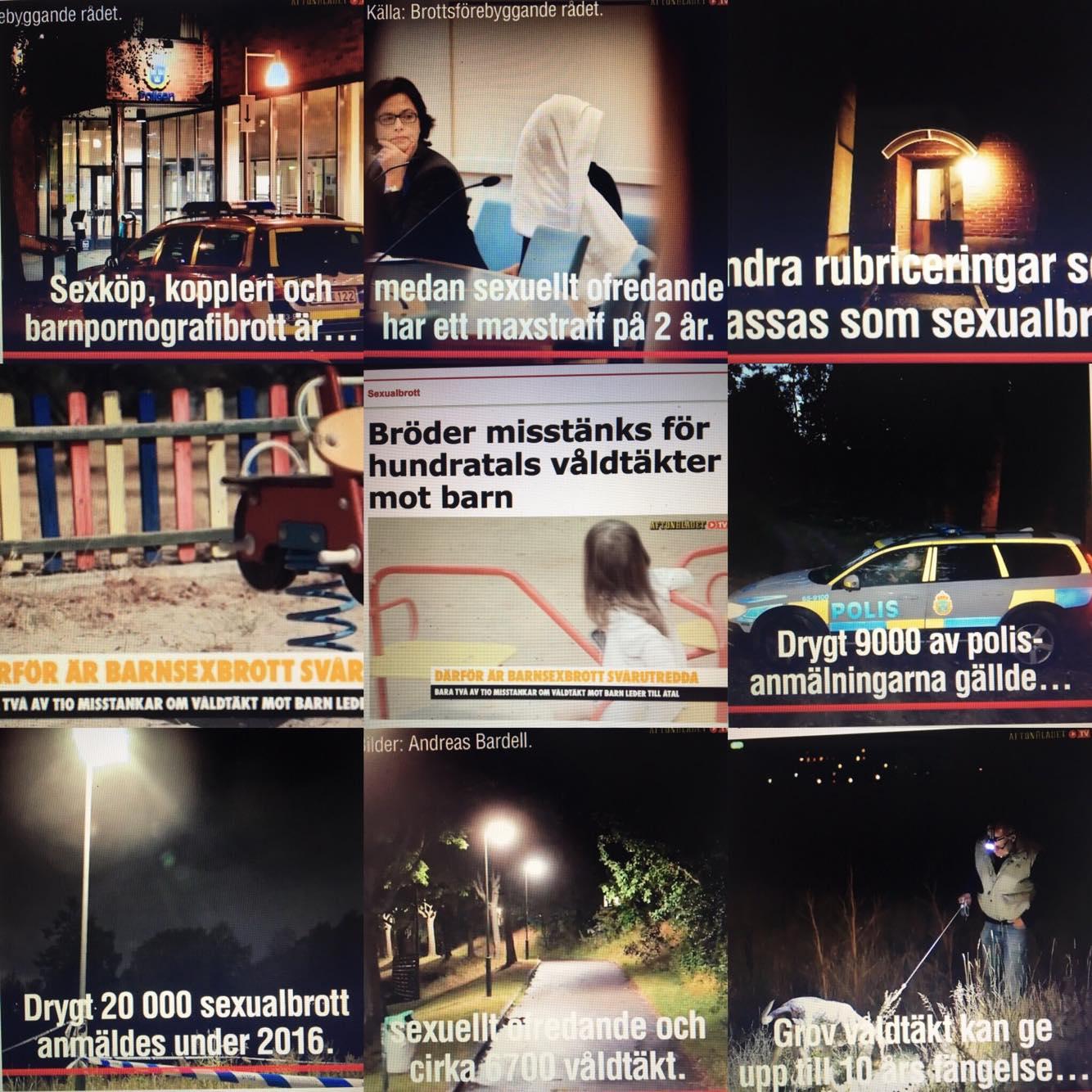 Bilder lånade från Aftonbladet.Fotograf Anders Bardell